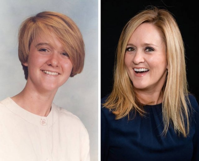 TV Show Hosts Then And Now (22 pics)