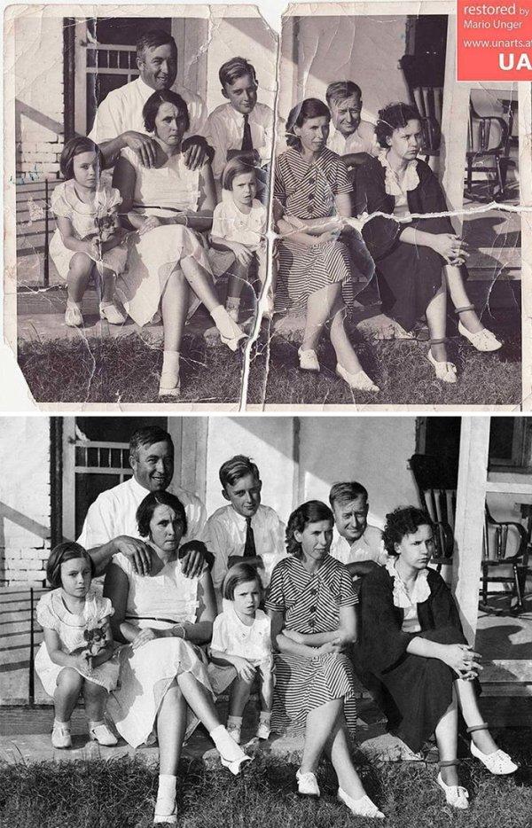 Vintage Photo Restoration (20 pics)