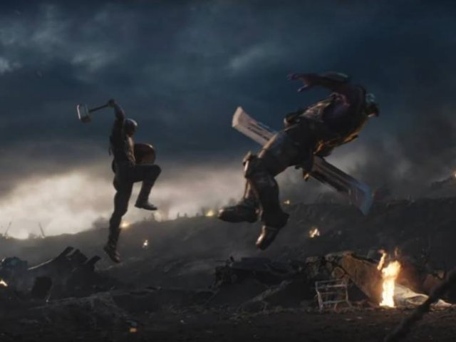 """""""Avengers: Endgame"""" With And Without CGI And Visual Effects (20 pics)"""
