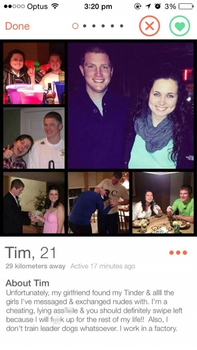 Cheaters Get Exposed On Tinder (26 pics)