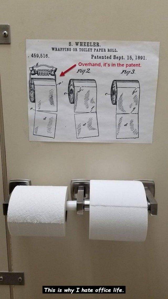 Passive Aggressive Bathroom Notes (31 pics)