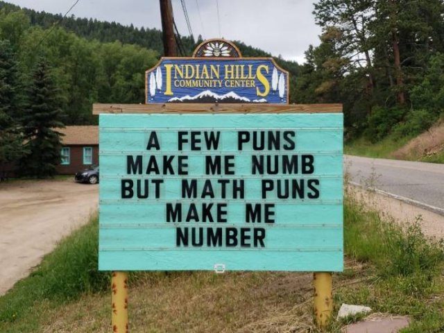 Indian Hills Is The Capital Of Puns (40 pics)