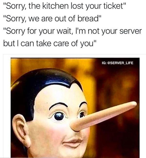Restaurant Worker Memes (38 pics)