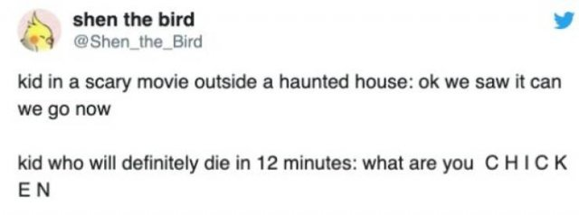 Horror Movie Tweets (26 pics)