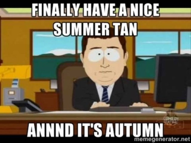 It's A Perfect Time For These Fall Memes (28 pics)