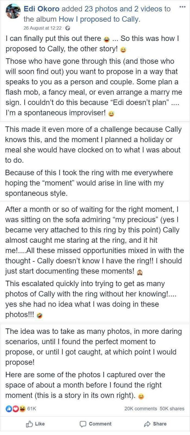 When Will She See That Engagement Ring? (25 pics)