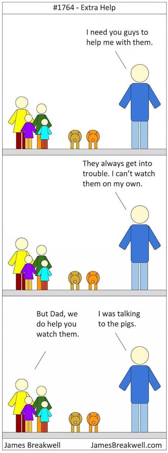 Comics About Family Life (45 pics)