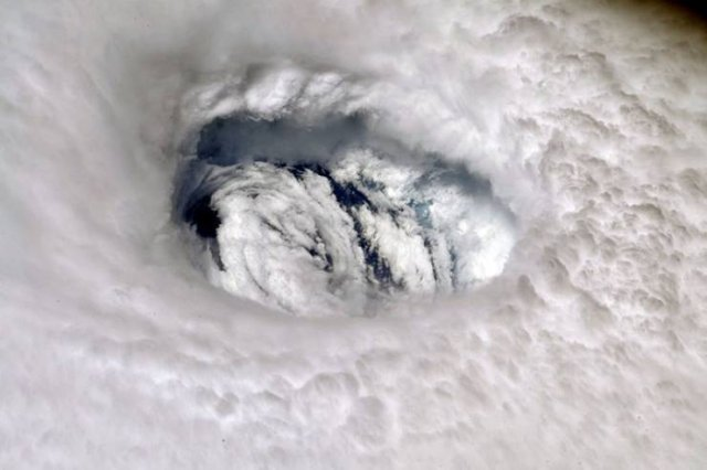 Photos Of Hurricane Dorian Made From Space (9 pics)