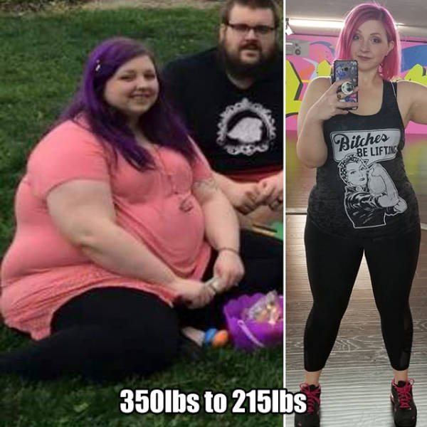These People Definitely Lost Some Fat (20 pics)