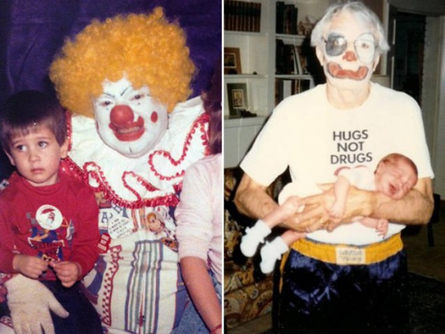 You Will Be Afraid Of Clowns After Seeing These Photos (22 pics)