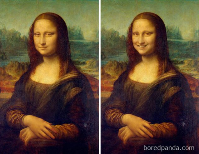 Smiles Added To Famous Portraits (30 pics)