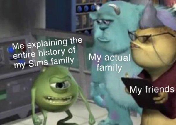The Sims Memes (40 pics)