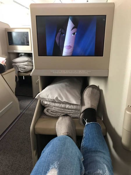First Class Is Not Economy… (12 pics)