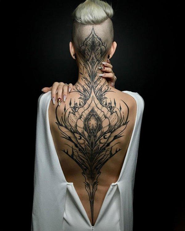 Incredible Back Tattoos (35 pics)