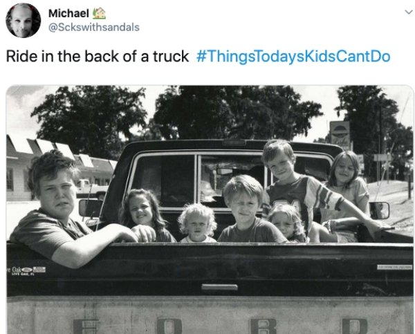 Things Todays Kids Can't Do (30 pics)