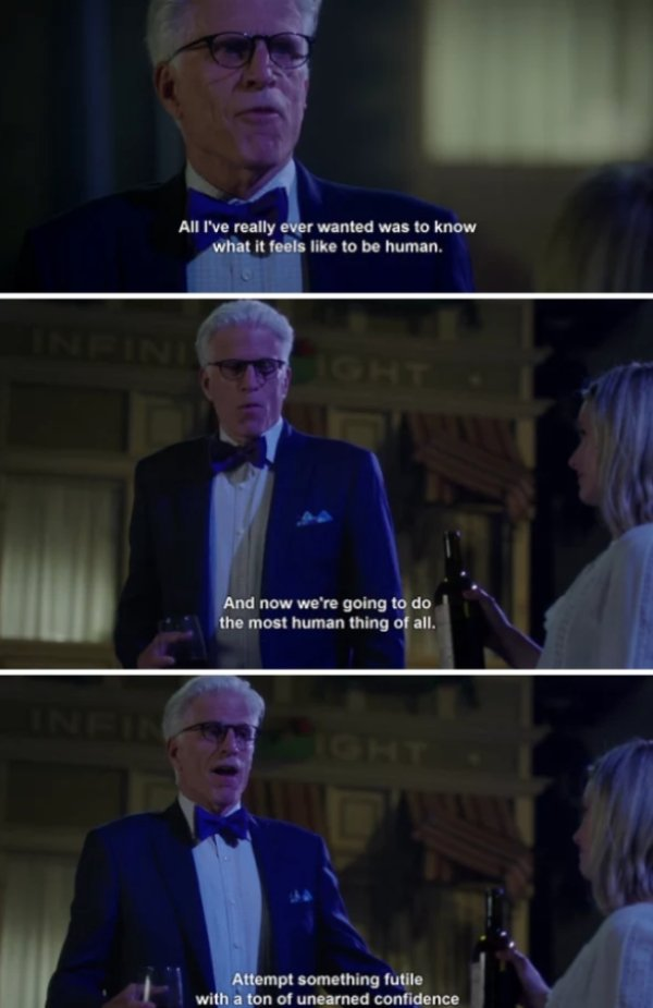 Funny Moments From 'The Good Place' (26 pics)