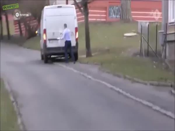 Pranking A Thief By Locking Him In A Van