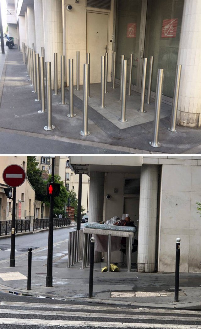Please Stop Fighting Homeless People This Way (15 pics)
