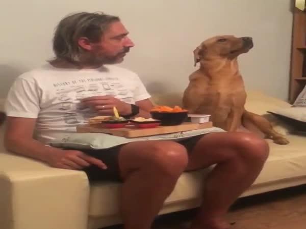 Enjoying Your Meal, Huh?