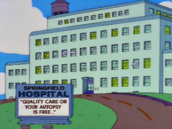 "Funny Signs On ""The Simpsons"" (30 pics)"