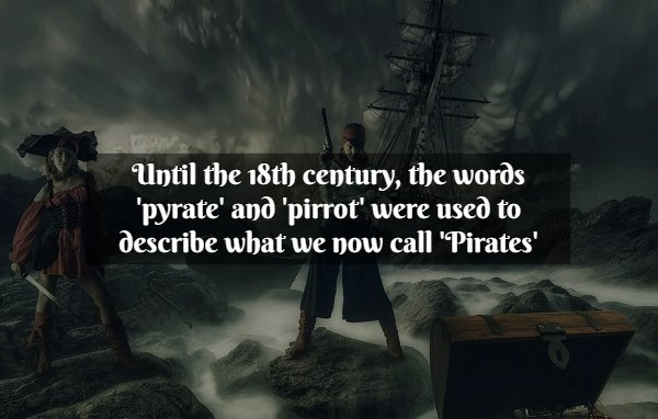 Facts About Pirates (20 pics)