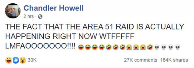Area 51 Raid Was Not We All Expected It To Be  (28 pics)