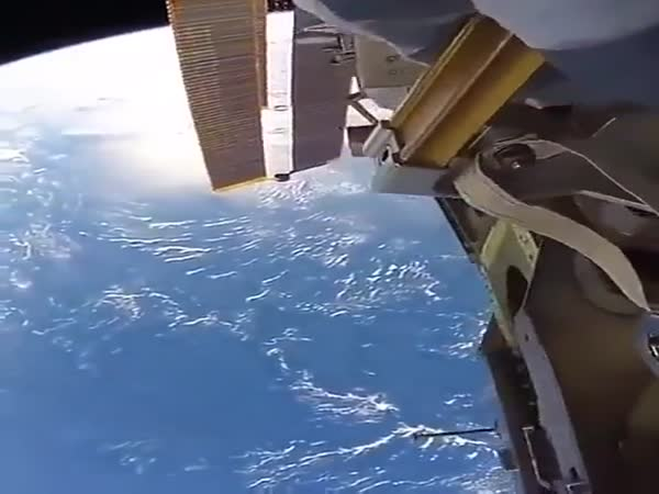 A Breathtaking View From The International Space Station