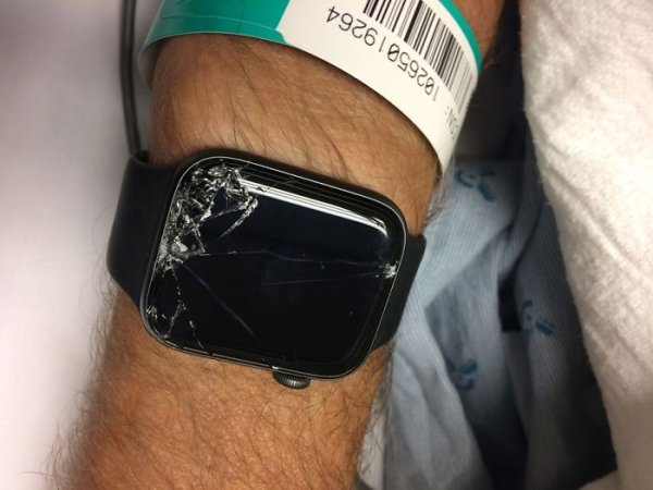 Biker Is Rescued By His Apple Watch (16 pics)