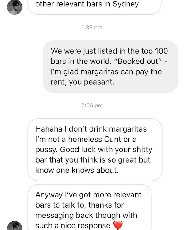 Influencer Got Owned By A Bar (10 pics)