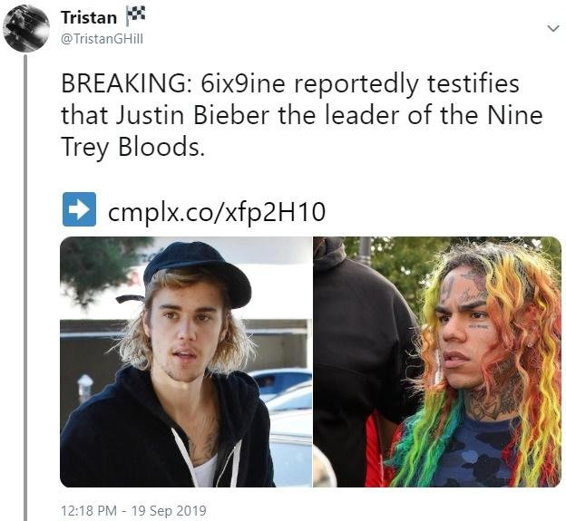 Memes About Rapper 6ix9ine Being A Snitch (23 pics)