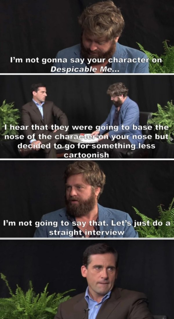 "Funny ""Between Two Ferns"" Moments (22 pics)"