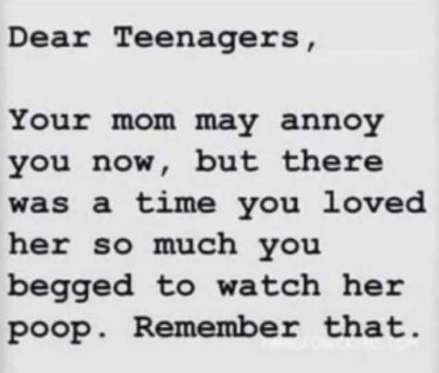 Memes About Teenagers And Their Parents (30 pics)