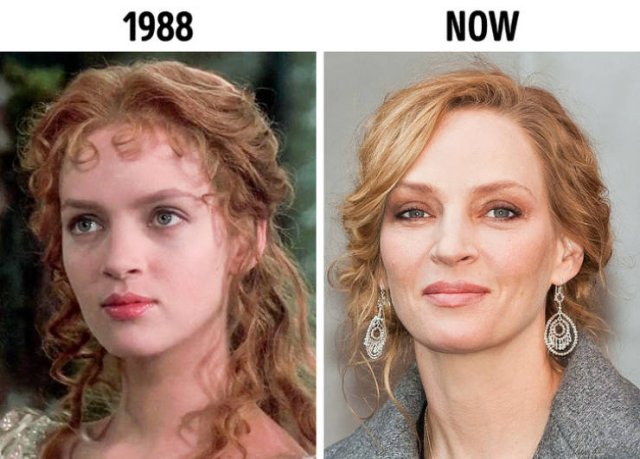 Pics oF Celebs At The Start Career And Nowadays (15 pics)