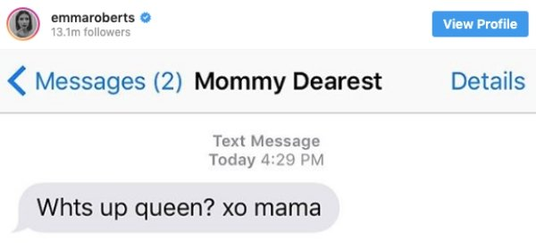 Celebrities Share Texts From Their Parents (18 pics)