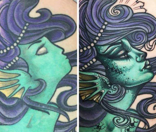 Amazing Tattoo Remakes (16 pics)