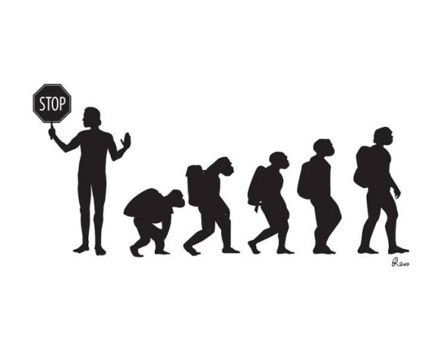 Funny Illustrations About The Evolution (30 pics)
