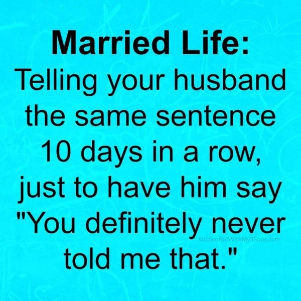 Married Life Memes (31 pics)