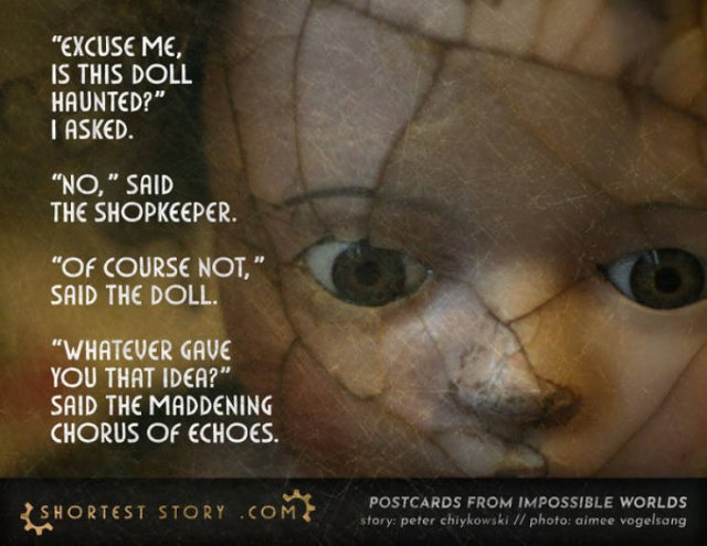 Scary Short Stories (35 pics)