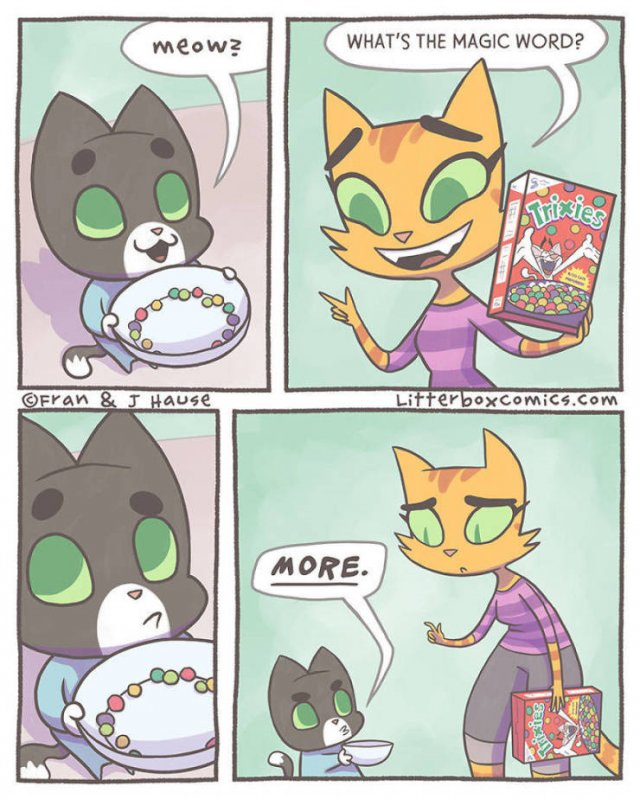 Mom Creates Comics About Her Life With Two Sons As Cats (29 pics)