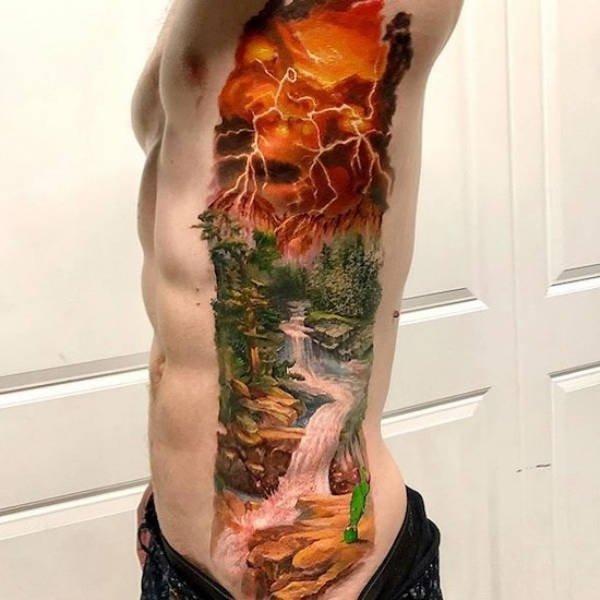 Realistic Tattoos (37 pics)