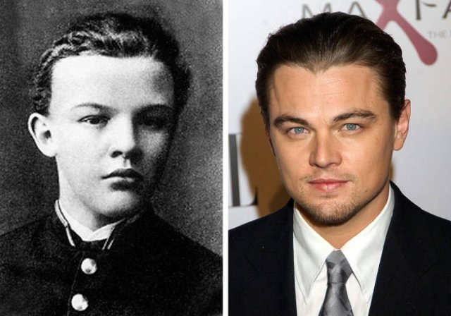 Celebrities In A Past Life (12 pics)