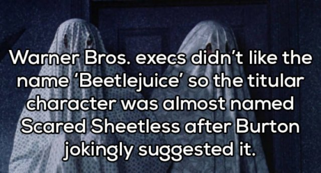 Beetlejuice's Horrible Facts (19 pics)