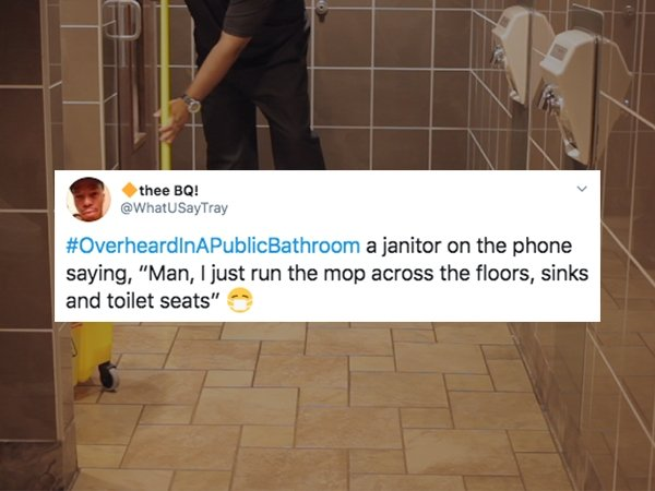 You Can Hear It In A Public WC (26 pics)