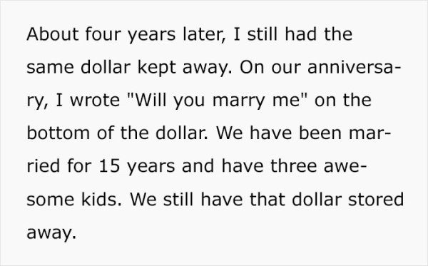 One-Dollar Story (10 pics)
