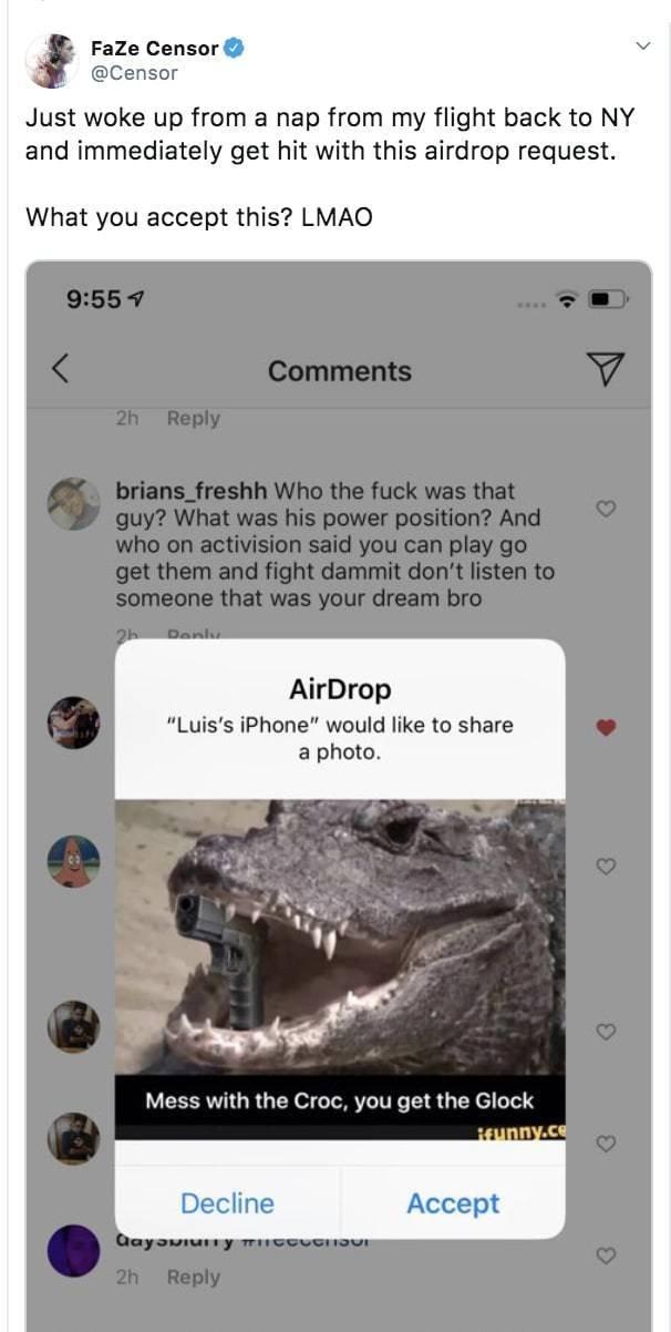 AirDrop Trolling (23 pics)