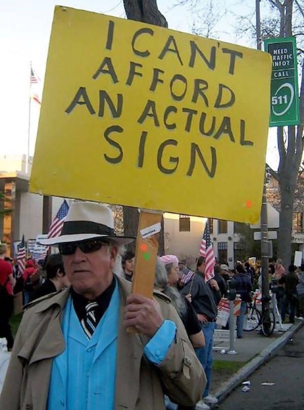 Amusing Protests (32 pics)