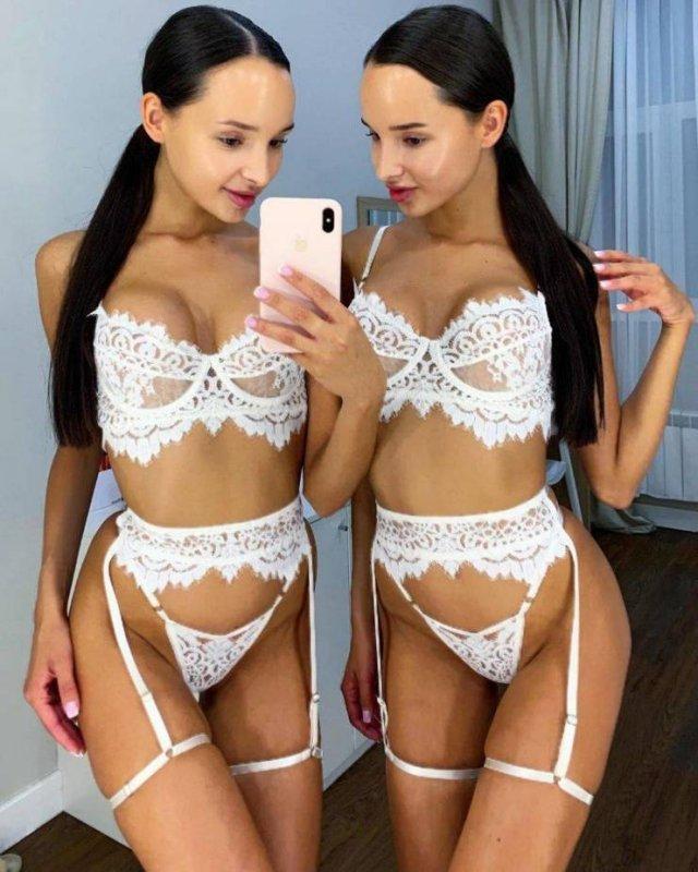Very Hot Lingerie Girls 57 Pics-3527