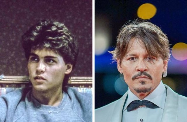 Famous People In Their Youth And Now (20 pics)