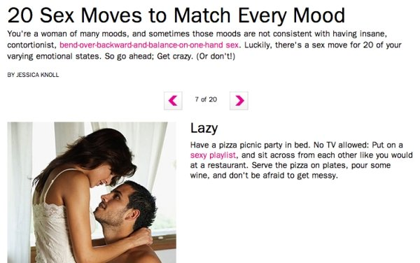 Ridiculous Sex Articles (30 pics)