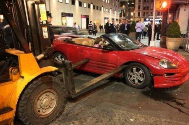 Unusual Car Accidents (41 pics)